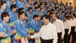 赵克志许勤会见我省全运会获奖运动员教练员 - 体育局