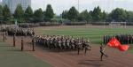 我校举办2017级新生军训结业仪式 - 河北科技大学