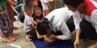 """沧州市红十字会系统""""世界急救日""""宣传活动剪影 - 红十字会"""