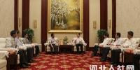 """省人社厅厅长王亮会见""""春晖计划""""专家团 - 人力资源和社会保障厅"""