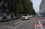 城市管理精心细致。 陈儒 摄 - 中国新闻社河北分社