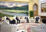 韩正会见澳门特别行政区立法会议员 - 国土资源厅