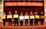 """河北省""""专精特新""""中小企业服务对接活动成功举办 - 工业和信息化厅"""
