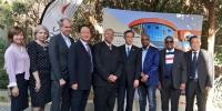 我校与南非大学合作建立的新能源国际联合实验室暨南非大学非洲可持续发展能源研究所中国合作中心在南非约翰内斯堡举行揭牌仪式 - 河北科技大学