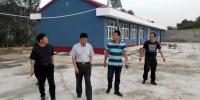 校纪委书记姜昆到我校扶贫村调研指导驻村工作 - 河北科技大学
