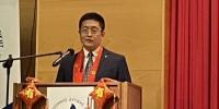 河北省文化和旅游厅二级巡视员杨军出席活动并致辞。 河北省文化和旅游供图 - 中国新闻社河北分社
