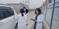农技人员指导企业复工复产。 高永兴 摄 - 中国新闻社河北分社