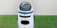 图为工地内的智能机器人。 东胜集团提供 - 中国新闻社河北分社