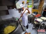衡水市第一幼儿园厨房一角。 王鹏 摄 - 中国新闻社河北分社