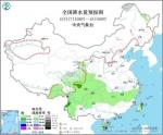 全国降水量预报图(10月17日08时-18日08时) - 中国新闻社河北分社