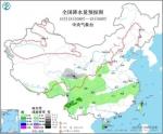 全国降水量预报图(10月18日08时-19日08时) - 中国新闻社河北分社