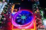 枣强县全民健身中心外景。 衡水市官方供图 - 中国新闻社河北分社
